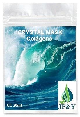 Crystal Mask Colágeno Firmeza Y Regeneración Celular - CUIDADO FACIAL