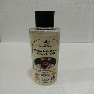 Ancient Healer beard growth oil 200ml - mooch and beard growth hair oil