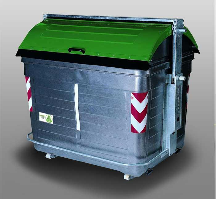 Steel Bins from 2400L to 3200L