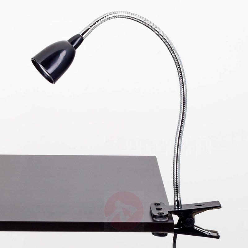 Rabea LED clip-on light in Black - indoor-lighting
