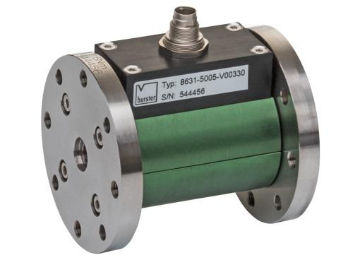 8631系列高精度扭矩传感器 - 坚固耐用、易于操作,结构紧凑、高精度,用于静态和动态测量(非旋转)