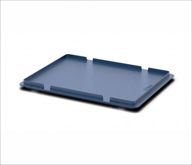 Lid for a KLT crate 400x300 50.512.61 - Art.: 50.512.61