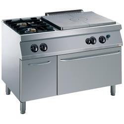 GAMME MEDIUM 1700 (700) - GAS COOKING RANGE SOLID TOP