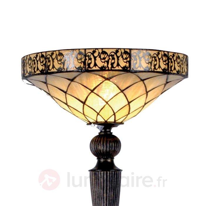 Lampadaire Diamond style Tiffany - Lampadaires style Tiffany