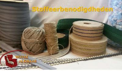 Stoffeer materialen, benodigdheden en fourniture