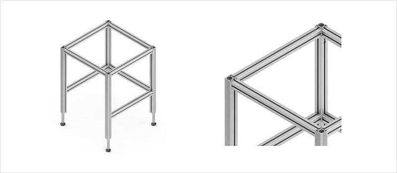 Table base frames - Table base TQ
