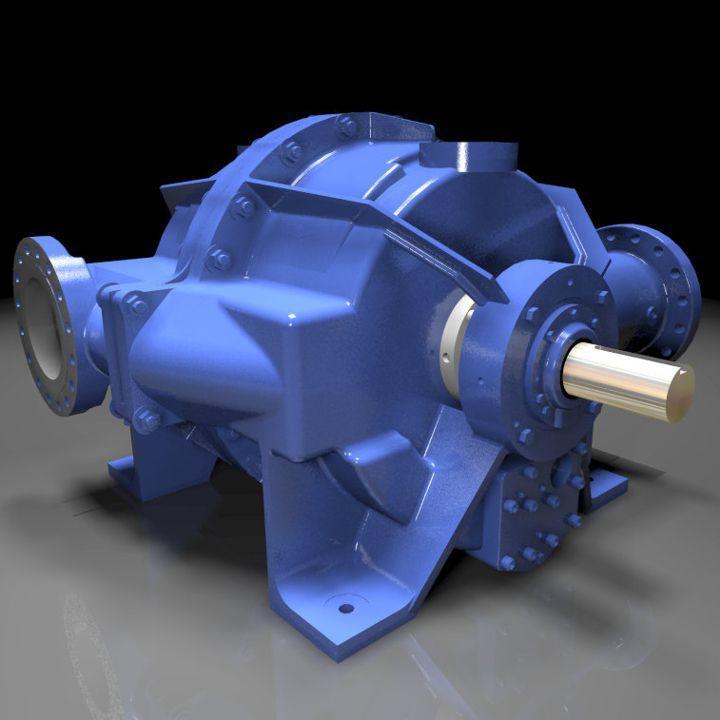 Liquid Ring Compressors - HP-9 Compressor