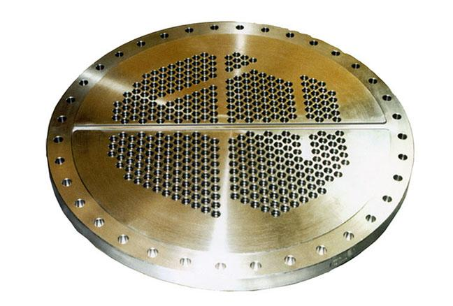 Tubular plate - Heat exchangers and condensers