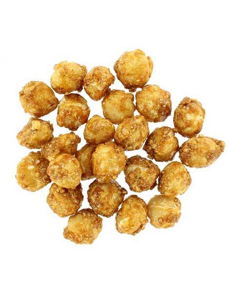 Honey macadamias - Macadamias met honing