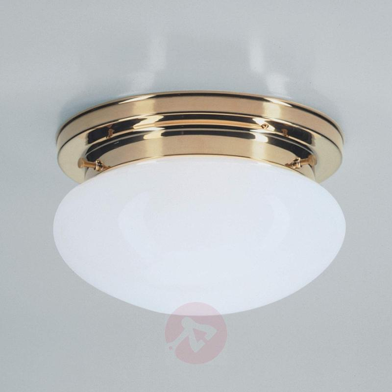 HARRY ceiling light with polished brass - design-hotel-lighting