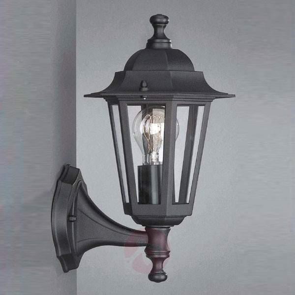Outdoor wall lamp Peking black standing - Outdoor Wall Lights