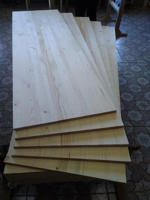 Деревянные щиты цельноламельные с елки - Производим деревянные щиты цельноламельные с елки