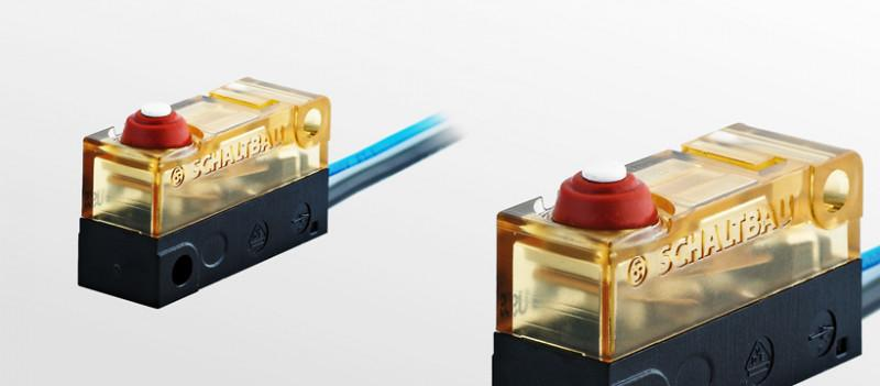 Snap-action switches, S970 - Snap-action switches, with ruggedized housingmade from polyetherimide (PEI)
