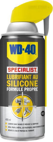 WD-40 SPECIALIST LUBRIFIANT AU SILICONE FORMULE PROPRE - null