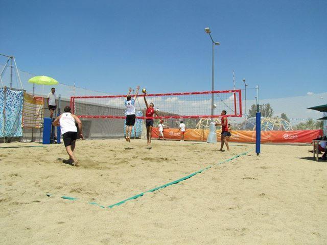 Volleyball - ALUMINIUM VOLLEYBALL STANDS