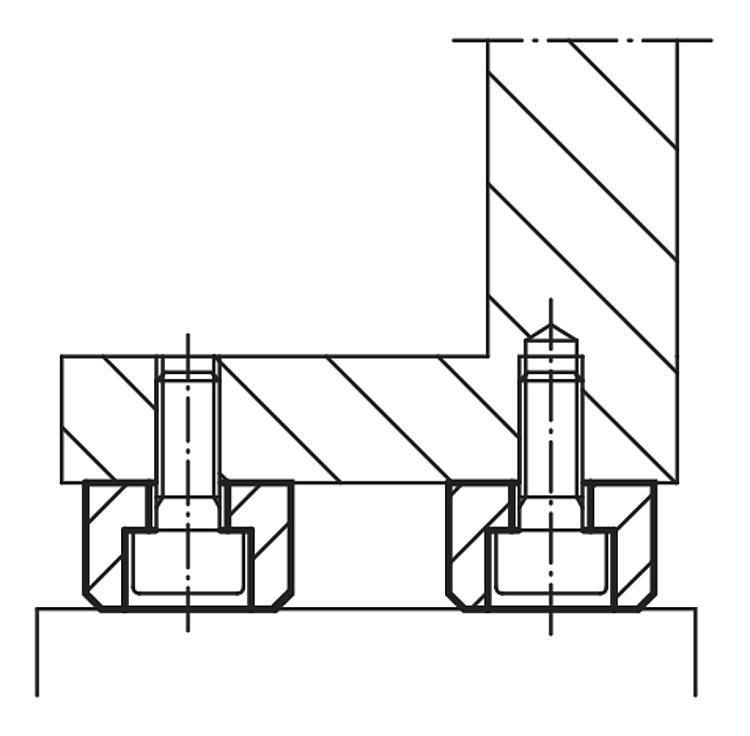 Pied de position - Appuis et pieds de position