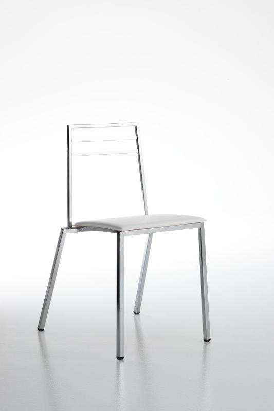 sedia in acciaio - sedie e sgabelli