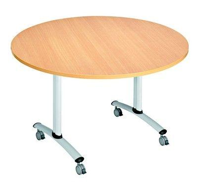 Table Basculante Ronde 120 Cm - Tables De Collectivités