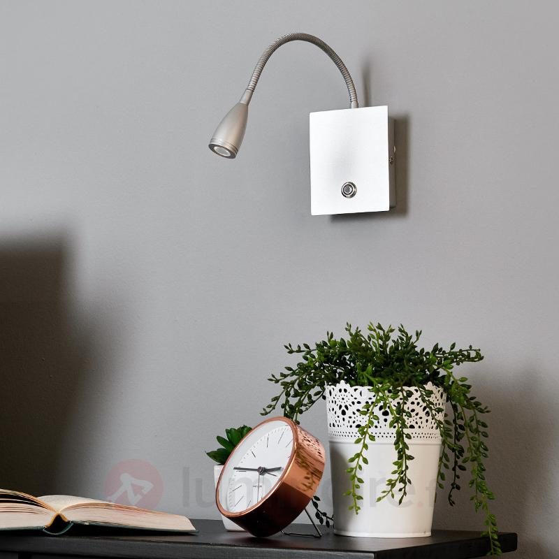 Applique LED Torin, argenté, intensité variable - Appliques LED