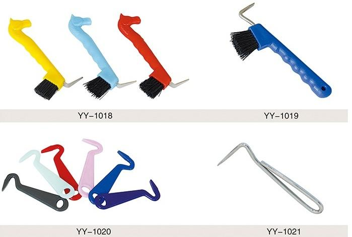 Horse Shoe Hoof Pick - horse soft touch hoof pick/Horse Hoof Pick /horse hoof pick with plastic handle