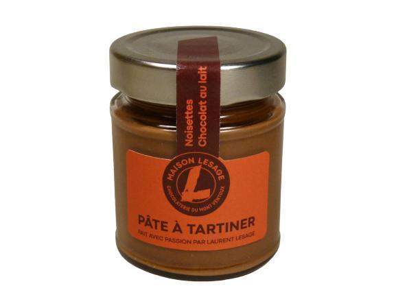Pâtes À Tartiner - Noisettes, Chocolat Au Lait - Pot en Verre de 220 g