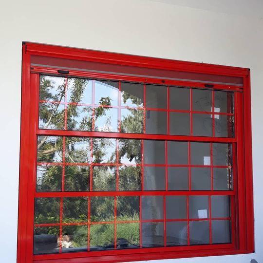 Motorized aluminium window system - MOTORIZED SASH WINDOW SYSTEMS