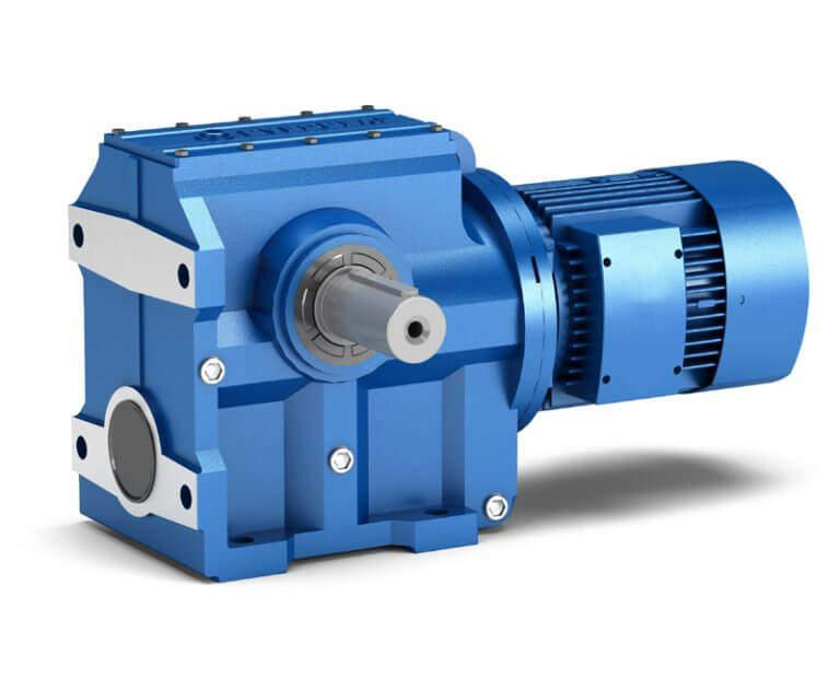 Helical Gear Worm Shaft Worm Gearbox(S series) - Worm gearbox