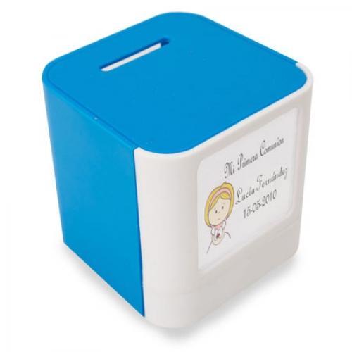 Huchas personalizadas - Todo tipo de huchas para regalar personalizadas. Cerdito, con llave, para pintar