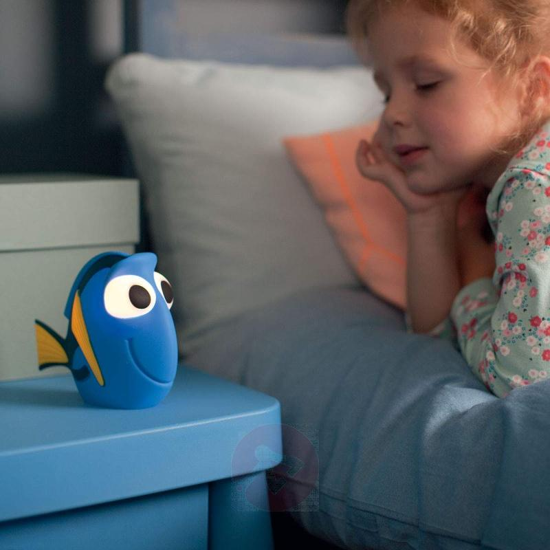 Finding Dory squeezable LED night light - Table Lamps