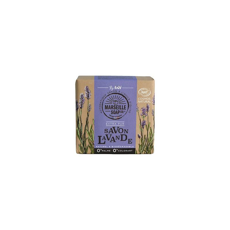 Marseille Soap Savon Lavande Certifié Cosmos Nat - SAVON MARSEILLE SOAP CO