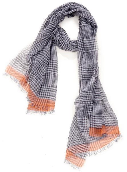 Prince de galles - col 3 - gris orange