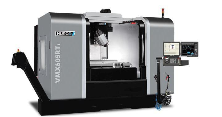 5-Axis-Machining-Center - VMX 60 SRTi - Swivel-head/ rotary machine designed for high-mix manufacturing