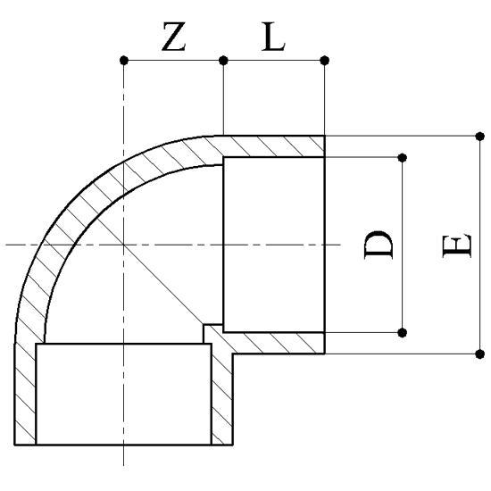 Gomiti 90 - Raccordi PVC