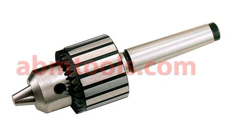 Drill Chuck - A drill chuck is a specialized self-centering, three-jaw chuck.