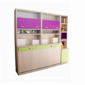 Solutions 36 - Librerías con cama plegable y cajones.
