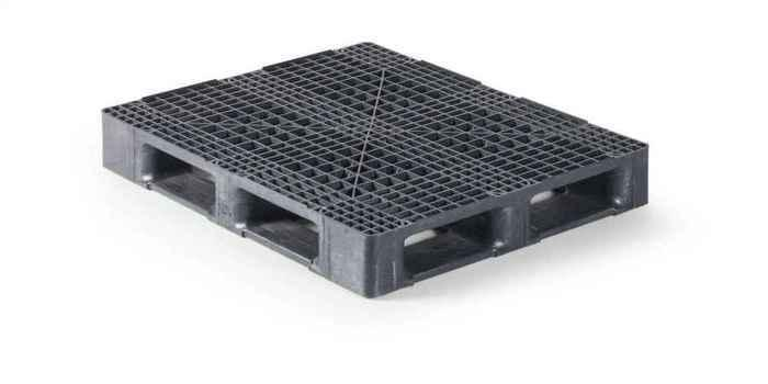 Kunststoff Industriepalette QPB1210HR6RR - null