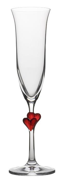 Drinking Glass Ranges - L'amour Flute, satin