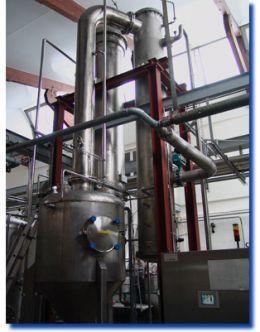 Malt concentration unit - Vacuum Evaporator / Food & Beverage
