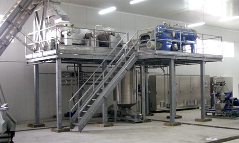 Trituratori in linea, a martelli, presse,... - Macchine per Estrazione e disattivazione enzimatica