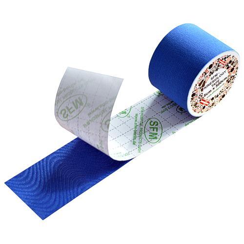 SFM Kinesiologie Tape in Folie 5cmx5m blau (1) - null