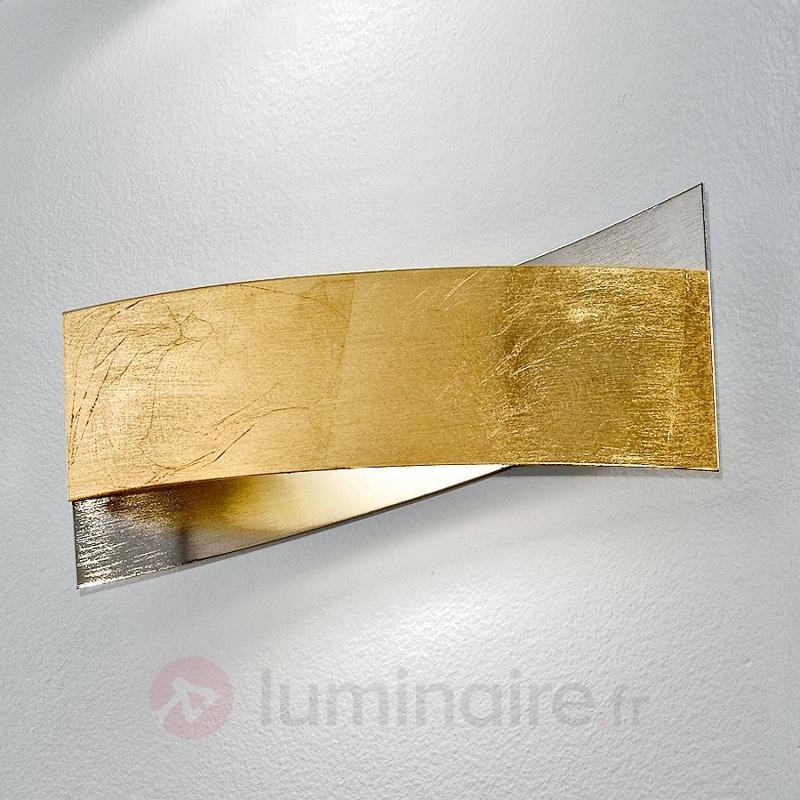 Sublime applique ARLESTRA, doré ou argenté - Appliques chromées/nickel/inox