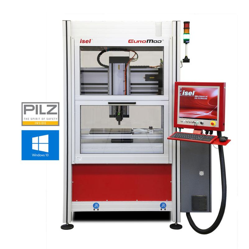 EUROMOD® MP CNC-MILLING MACHINE - Easy-to-use CNC-Milling Machine with servomotor drive
