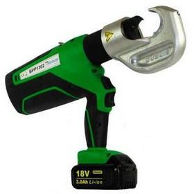Battery Driven Hydraulic Crimping Tools - BPP-1302-D18V - battery hydraulic crimping tool, 130 kN, CU400mm²