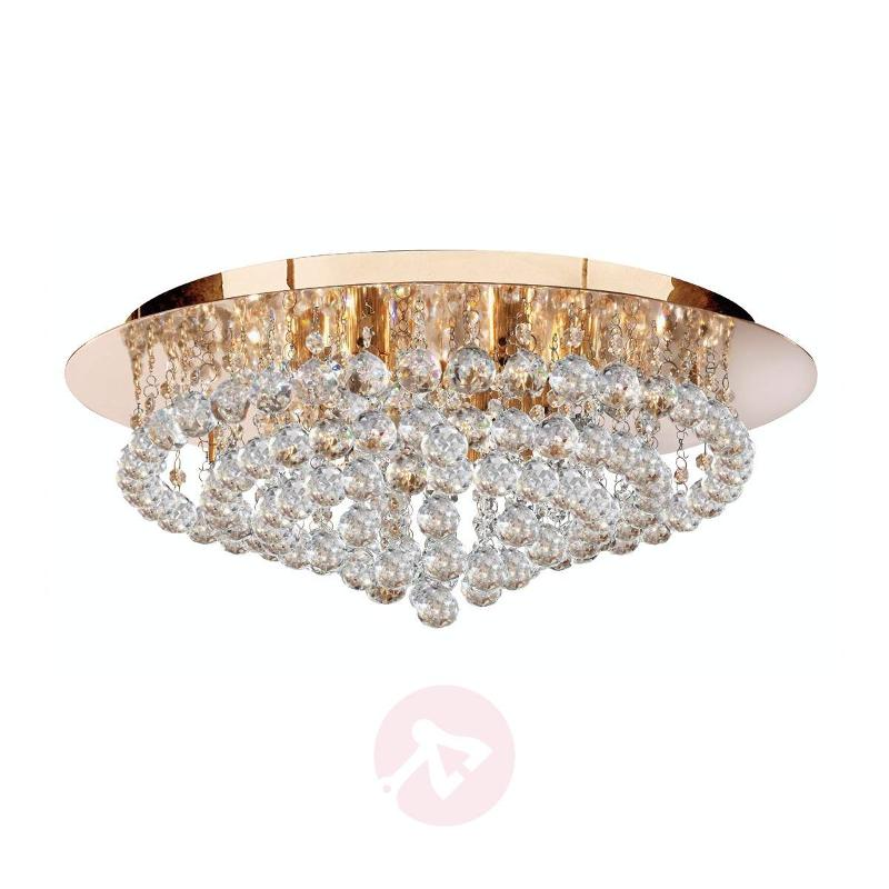 Charming Hanna ceiling light, clear - Ceiling Lights