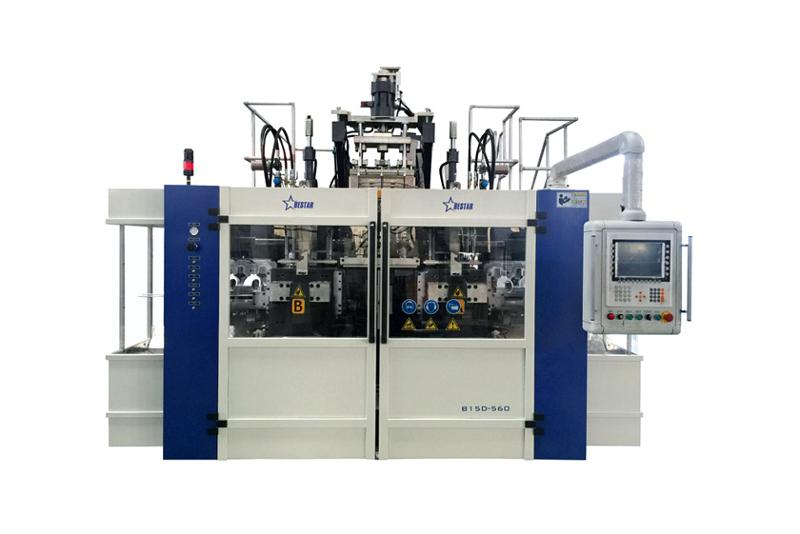 Food and Beverage Blow Molding Machine Cases - Beverage Bottle Blowing Machine B10D-560(2 Stations 3 Cavities)