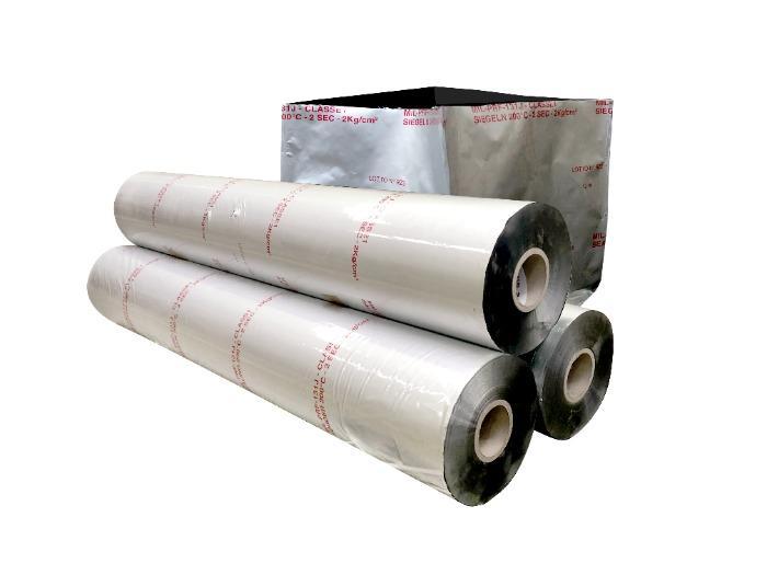Bolsa Aislante, Material Barrera de Aluminio - Sistema diseñado para proteger el producto del ambiente exterior.