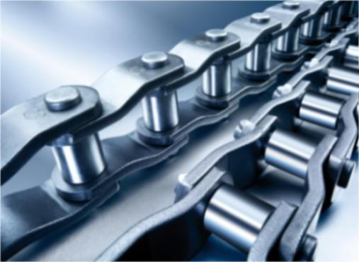 Heavy-duty cranked-link transmission chains - Heavy-duty cranked-link transmission chains