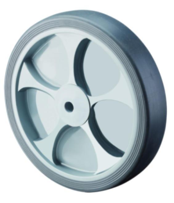 Rubber wheel B44