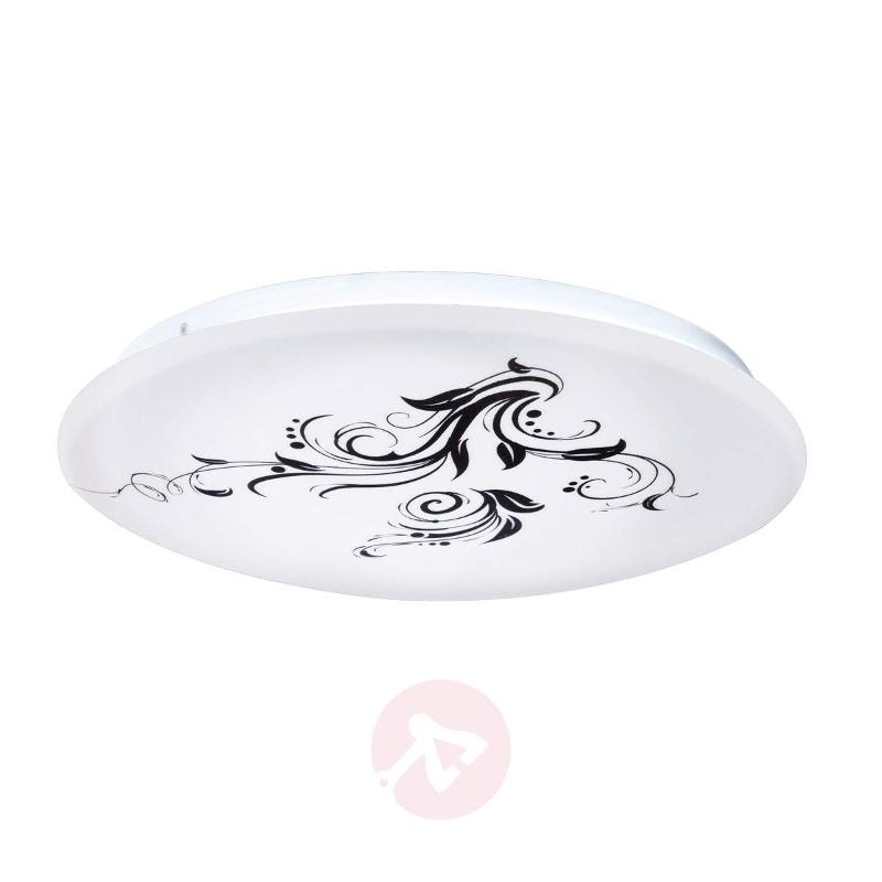 Floral motif - Competa LED ceiling lamp - Ceiling Lights