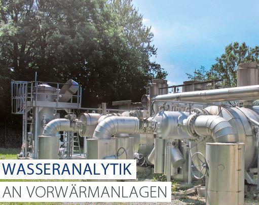 Wasseranalytik an Vorwärmanlagen -